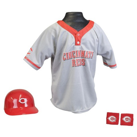 Cincinnati Reds Franklin Sports Baseball Uniform Set for Kids - Ages 5-9