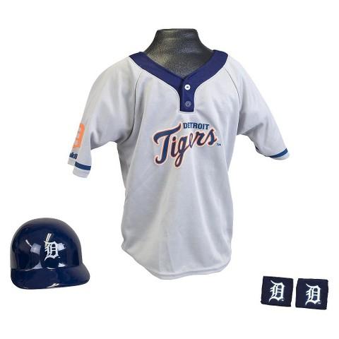 Franklin Sports Detroit Tigers MLB Uniform Set for Kids - OSFM Ages 5-9