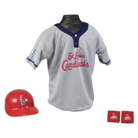 Franklin Sports St. Louis Cardinals MLB Uniform Set for Kids - OSFM Ages 5-9