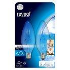 GE Reveal 60-Watt Ceiling Fan Incandescent Light Bulb (2-Pack) - Clear