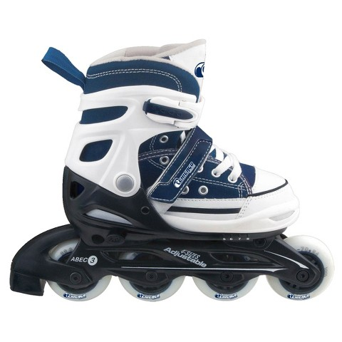 Chicago Rally Boy's JR Adjustable In Line Skate - Blue