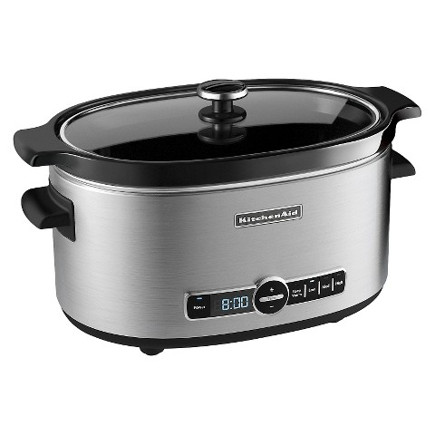 KitchenAid® Stainless Steel 6 Qt. Slow Cooker