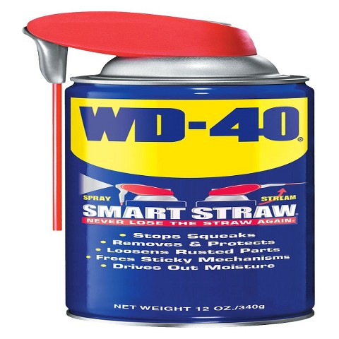 WD-40 Smart Straw Water-Displacing Spray 12-oz.
