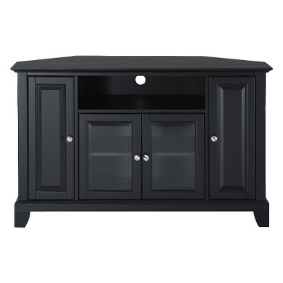 "Crosley Newport Corner TV Stand - Black (48"")"