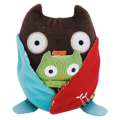 Skip Hop Hug and Hide Stroller Toy - Owl
