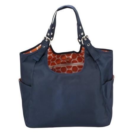 jp lizzy diaper bag satchel blue navy mandarin target. Black Bedroom Furniture Sets. Home Design Ideas