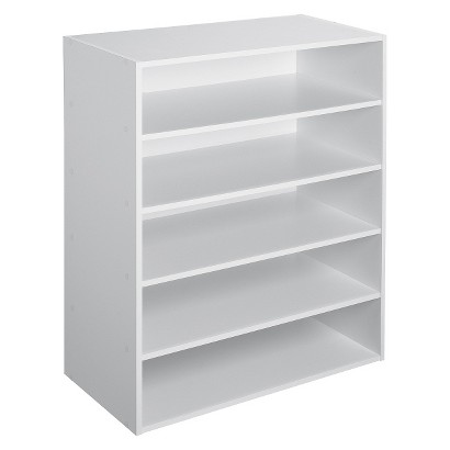 ClosetMaid 5-Shelf Organizer - White