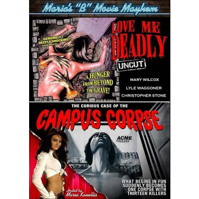 """Maria's """"B"""" Movie Mayhem: Love Me Deadly/The Curious Case of the Campus Corpse (Widescreen)"""