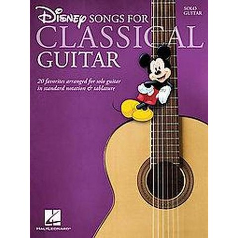 Disney Songs for Classical Guitar (Paperback)