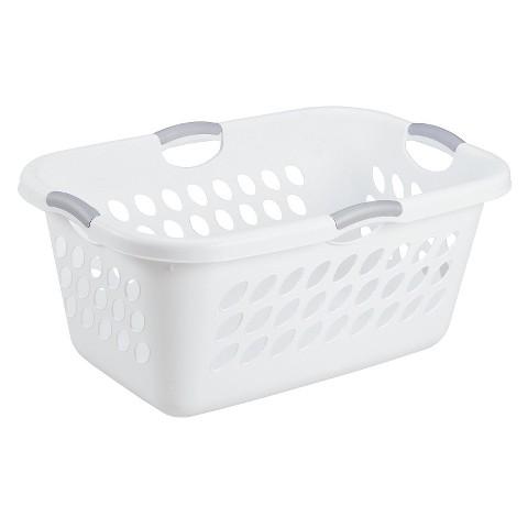 Sterilite® Medium Rectangular Basket - White