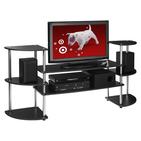 Convenience Concepts Multi Level TV Stand - Black