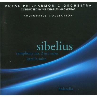 Sibelius: Symphony No. 2 in D Major; Karelia Suite; Finlandia