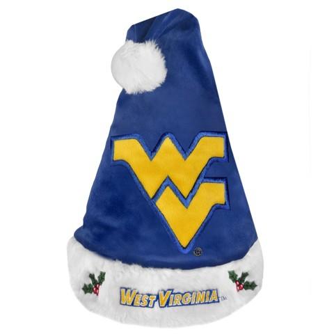 West Virginia Mountaineers Santa Hat Multicolor