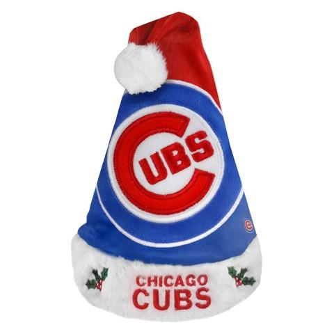 Chicago Cubs Santa Hat