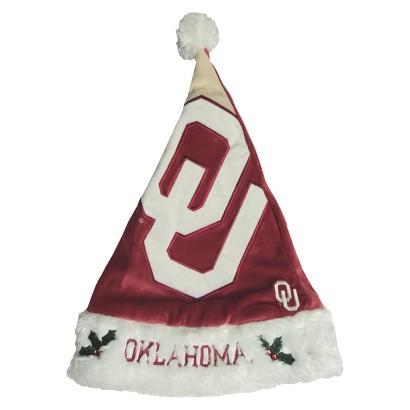 NCAA Oklahoma Sooners Santa Hat