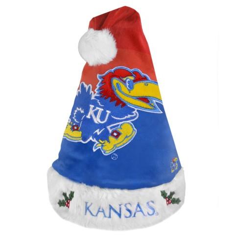Kansas Jayhawks Santa Hat