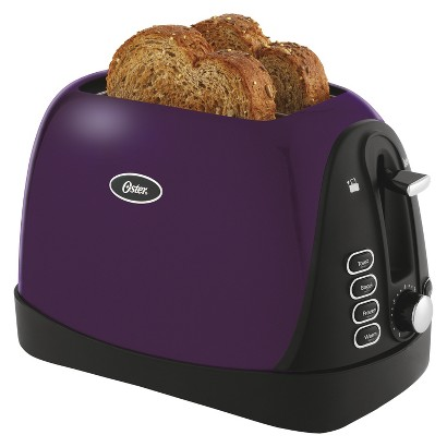 Oster 2-Slice Jelly Bean Toaster - Purple