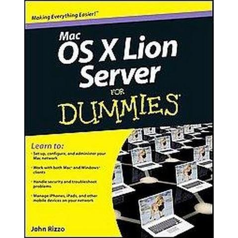 MAC OS X Lion Server for Dummies (Paperback)