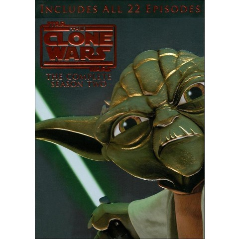 Star Wars: The Clone Wars - The Complete Season Two (4 Discs)