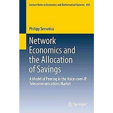 Network Economics and the Allocation of Savings (Paperback)