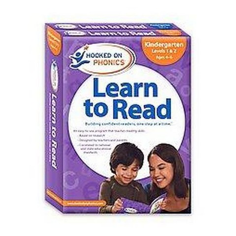 Hooked on Phonics Learn to Read Kindergarten Complete (Workbook) (Mixed media product)
