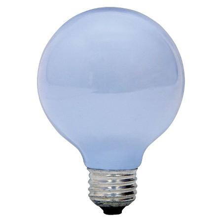 Ge Reveal 40 Watt G25 Incandescent Light Bulb 3 Pack White Target