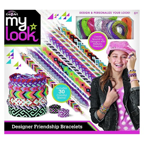 My Look Make Your Own Friendship Bracelets by Cra-Z-Art