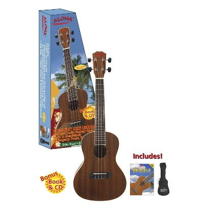 Spectrum Concert Ukulele Pack - Brown (AIL 212C)