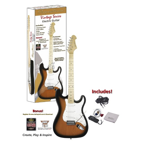Spectrum Vintage Series (AIL 97TWN) ST Style Electric Guitar - Brown