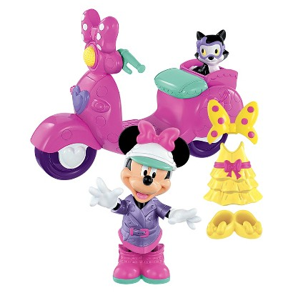 Minnie Mouse Motor Scooter