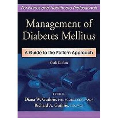 Management of Diabetes Mellitus (New) (Hardcover)