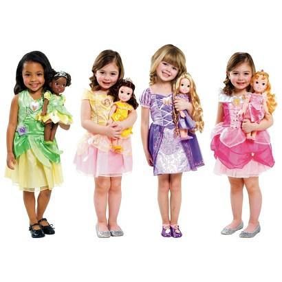 Disn Princess Toddler Doll & Dress Combo