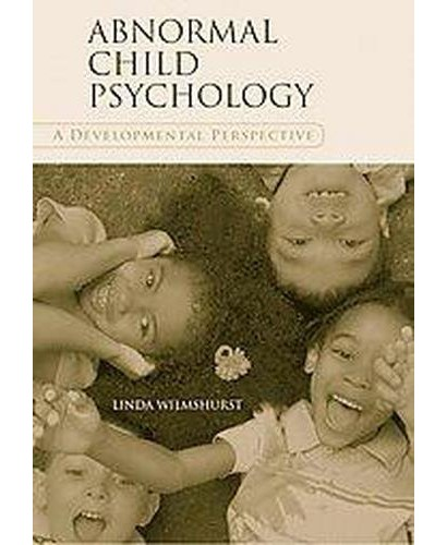 abnormal child psychology essay Free essay: psychological disorder analysis abnormal psychology: abuse, addiction, & disorders psy 270 jalisa cooper february 4, 2012 final paper.
