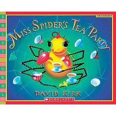 Miss Spider's Tea Party (Reprint) (Paperback)