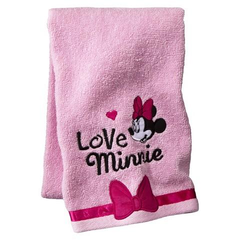 Disney® Minnie Mouse Oh La La Hand Towel - Pink
