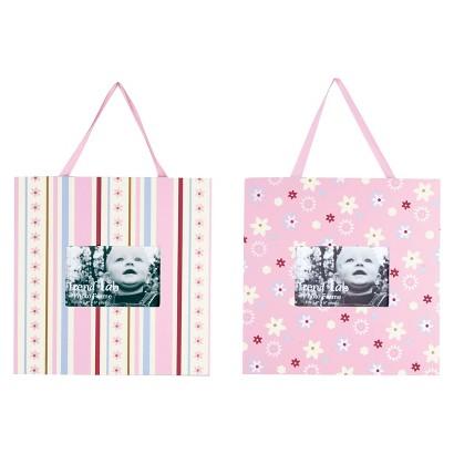 Trend Lab Pink Brielle 2pc Frame Set