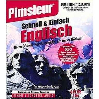 English for German Speakers (Compact Disc)