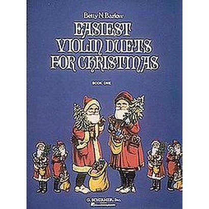 Easiest Violin Duets for Christmas (Paperback)