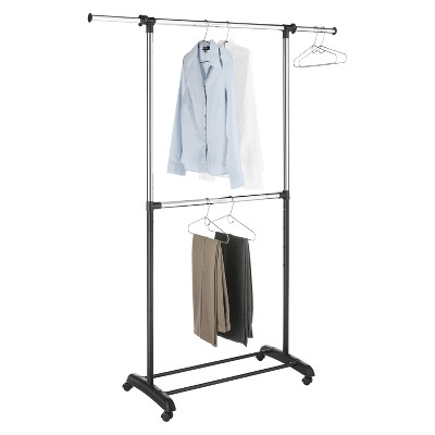 RE 2-Tiered Adjustable Height Garment Rack
