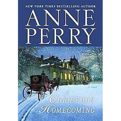 A Christmas Homecoming (Large Print) (Hardcover)