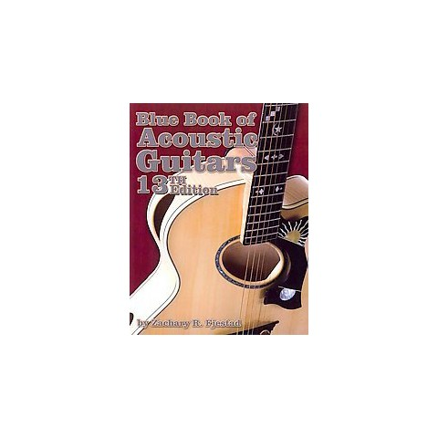 Blue Book of Acoustic Guitars (Paperback)