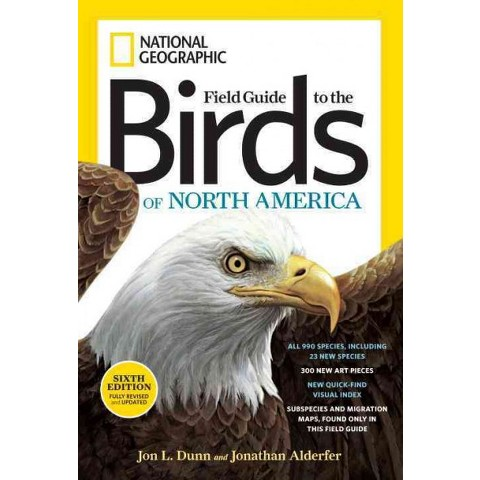 National Geographic Field Guide to the Birds of North America (Revised) (Paperback) (Jon L. Dunn)
