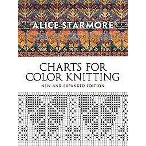 Charts for Color Knitting (Expanded) (Paperback)
