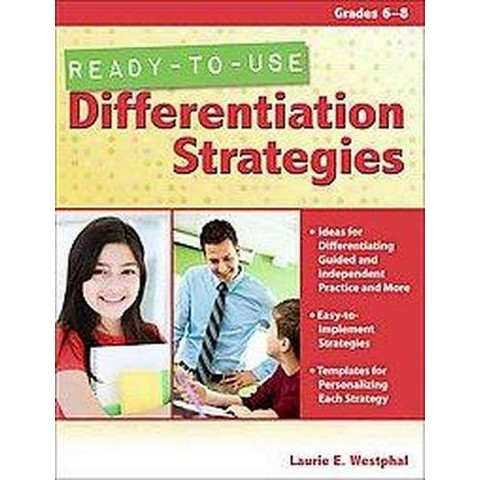 Ready-to-Use Differentiation Strategies (Paperback)