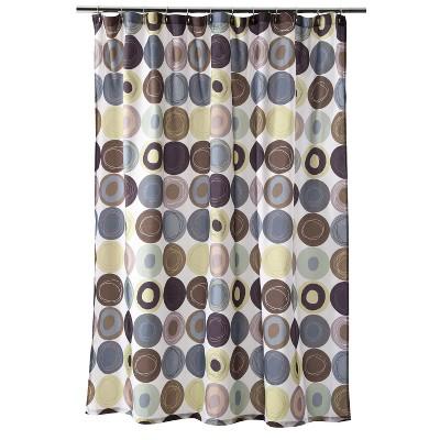 Dot Swirl Shower Curtain