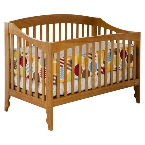 Lolly & Me Sawyer 4-in-1 Convertible Crib - Natural