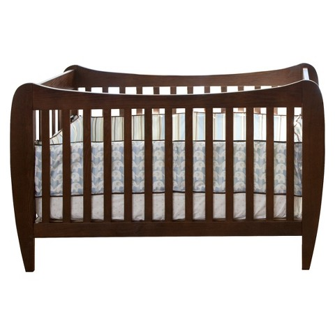 Lolly & Me McKinley 4-in-1 Convertible Crib - Chocolate