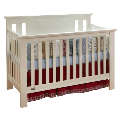 Lolly&Me Delaney 4-in-1 Convertible Crib