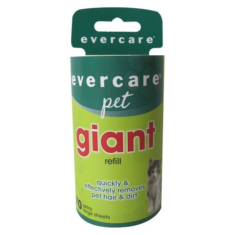 Evercare Pet Giant Roller Refill 70-ct.