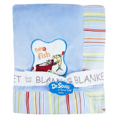 Dr Seuss One Fish Blanket